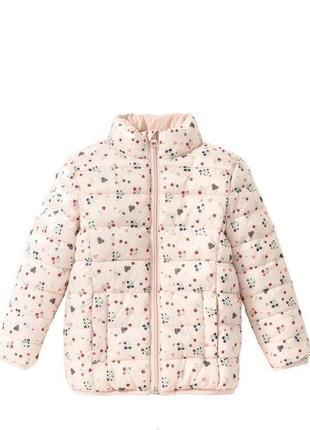 Демисезонная стеганая куртка для девочки lupilu 86,104 размер