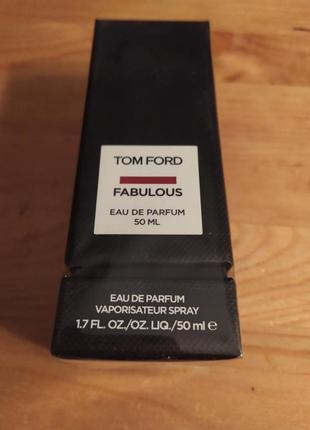 Tom ford fabulous  оригинал  парфюмерия