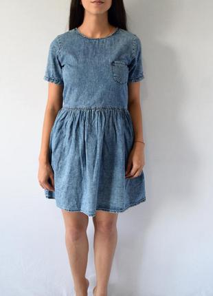 Джинсовое платье denim co