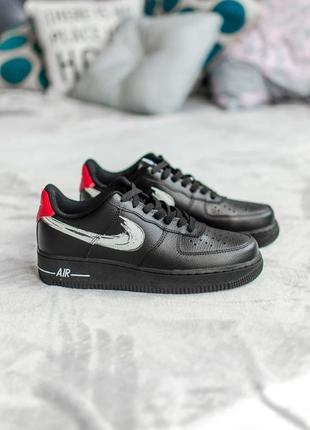 Nike air force 1 low 🍏 стильные женские кроссовки найк аир зум