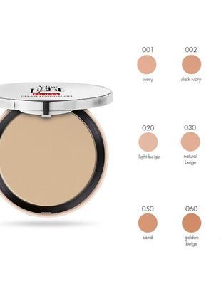 Новая тональная основа pupa active light cream foundation