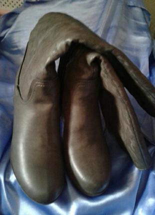 Модельные женские сапоги,38,5-39,на среднюю ножку, отличное состояние и качество