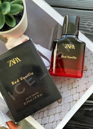 Zara red vanilla духи парфюмерия туалетная вода оригинал испания купить