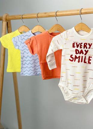 Комплект футболок {3 шт} и боди