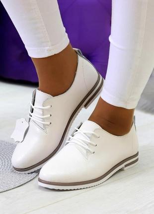 Туфли 36-41 размер, кожа натуральная, новинка