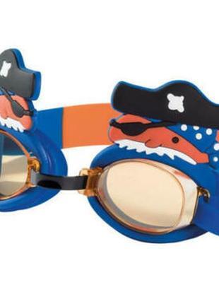 Детские очки для плавания пират crivit. германия. 100% защита от uva и uvb