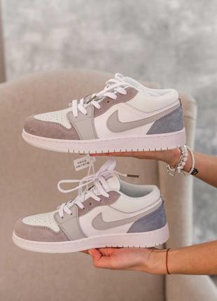 Nike air jordan low paris, женские кроссовки найки джордан