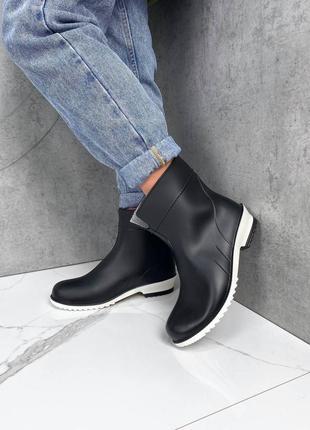 Гумові чоботи черевики резиновые сапоги