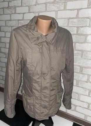 Стильная женская куртка /ветровка h&m цвет мокко кэмэл капучино