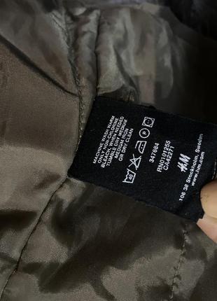 Стильная женская куртка /ветровка h&m цвет мокко кэмэл капучино2 фото