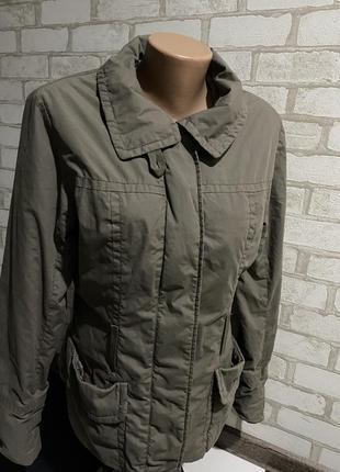 Стильная женская куртка /ветровка h&m цвет мокко кэмэл капучино3 фото