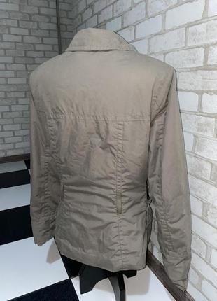 Стильная женская куртка /ветровка h&m цвет мокко кэмэл капучино4 фото