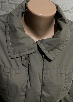 Стильная женская куртка /ветровка h&m цвет мокко кэмэл капучино7 фото