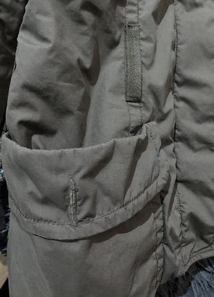 Стильная женская куртка /ветровка h&m цвет мокко кэмэл капучино6 фото