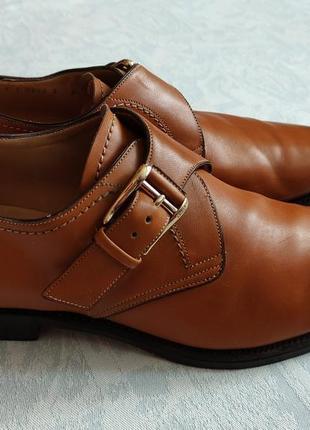 Мужские туфли bally оригинал кожаные туфли карамельно-медового цвета