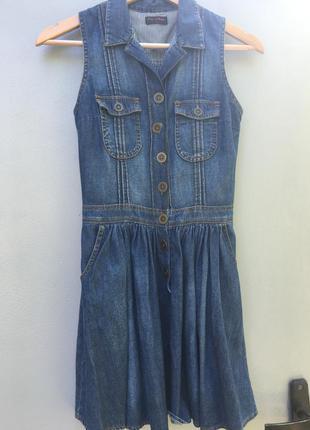 Сарафан джинсовый очень красивый