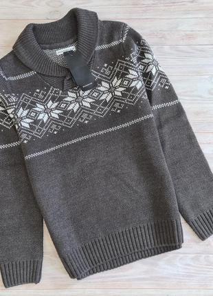 Пуловер свитер reserved мальчику 6-7, 9-10 лет