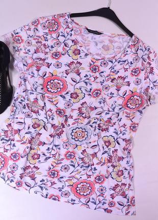 Цветочная футболка dorothy perkins