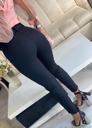 Новинка , весна .женские брюки леггинсы 3 цвета посадка идеал