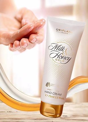Крем д рук milk & honey gold «молоко і мед–золота серія» oriflame оріфлейм орифлейм 31606