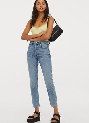 Фірмові джинси-кюлоти h&m