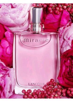 Lancomemiracle 💞- парфюм нового дня и новой жизни.