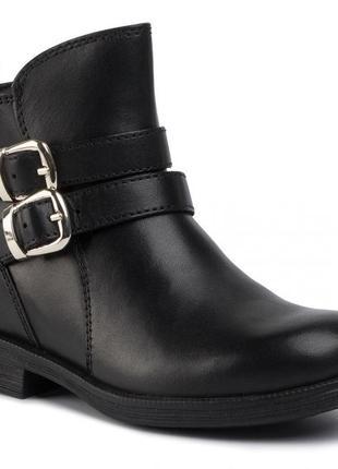 Распродажа 1900 грн кожаные, демисезонные ботинки geox