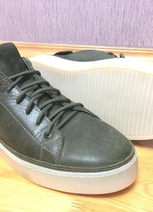 Новая  патинированная {эффект состарившийся}кожаная мужская обувь стелька 29см