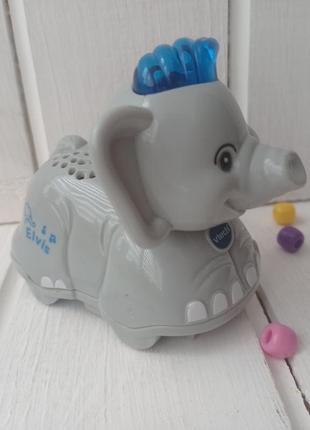 Интерактивный слон vtech go go. . музыкальная игрушка