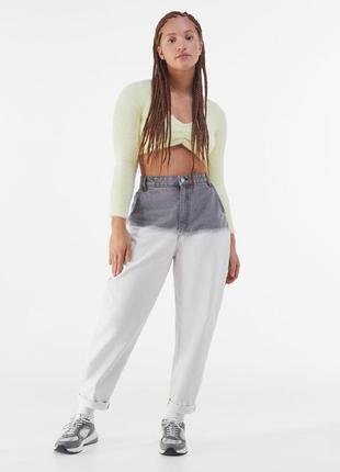 Роскошные оригинальные джинсы мом mom слоучи