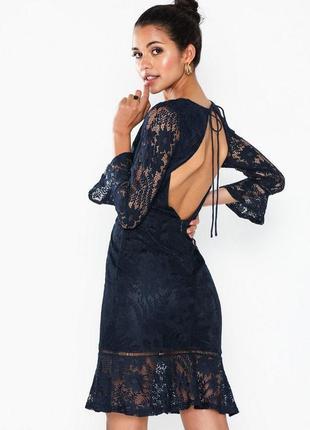 Новое кружевное платье nly eve