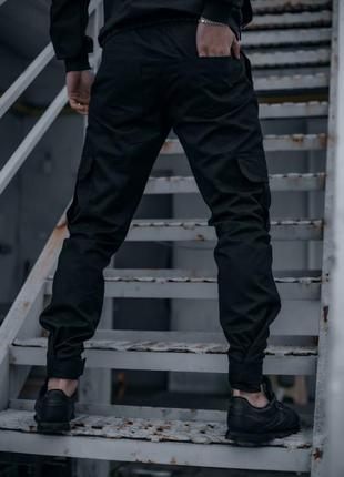 """Котоновые штаны """"baza"""" intruder черные"""