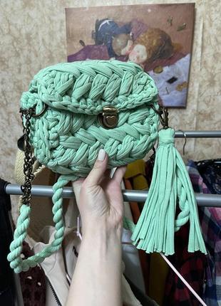 Сумочка ручной работы, женская сумка