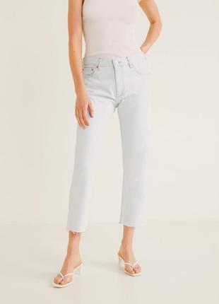Ідеальні прямі джинси mango, велика знижка