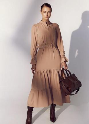 Платье-макси в стиле бохо🔝
