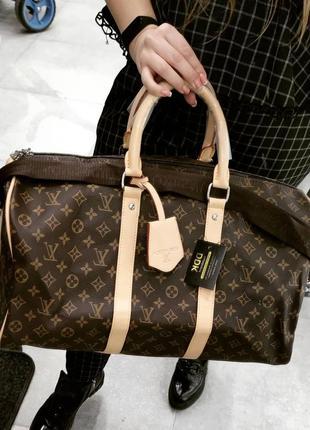 Дорожня сумка в стилі луї віттон