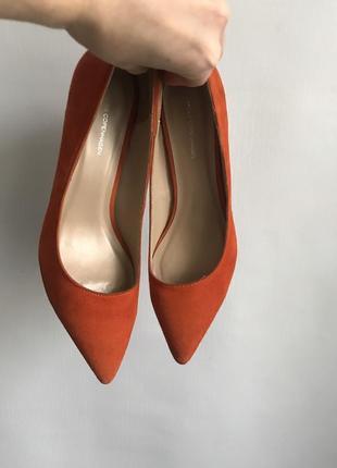 Замшевые туфли-лодочки moss copenhagen (дания) # туфли из натуральной замши р 37, 40