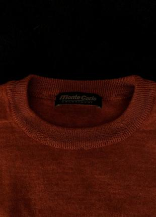Джемпер кирпичного цвета