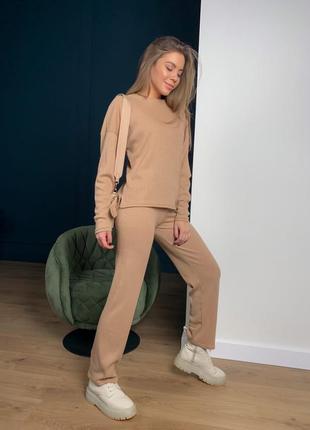 Костюм базовый широкие штаны 200