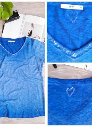 Brax фирменная футболка р наш 54-56 сток