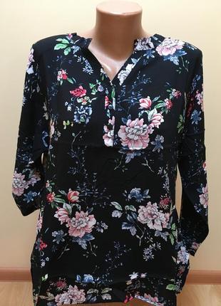 Стильні блузочка з квітковим принтом 🌈🌈🌈