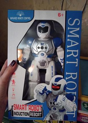 Робот на пульте управления интерактивная игрушка для мальчика