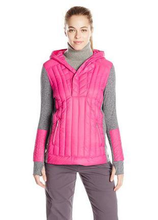 Calvin klein оригинал утепленная ветровка трекинговая куртка на пуху l, xl