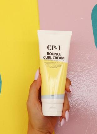 Ухаживающий крем для повреждённых волос esthetic house cp-1 bounce curl cream, 150 мл