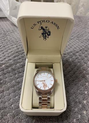 Жіночий годинник u.s.polo assn rose gold