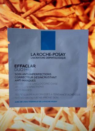 Корректирующее средство комлексного действия la roche-posay effaclar duo