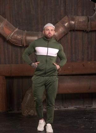 Удобный и стильный спортивный костюм мужской на весну