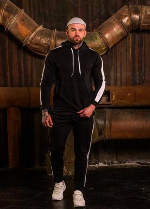 Удобный и стильный спортивный костюм мужской демисезон