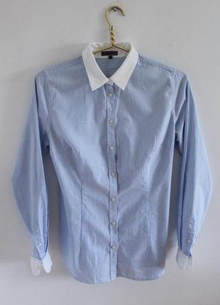 Рубашка в полоску от montego
