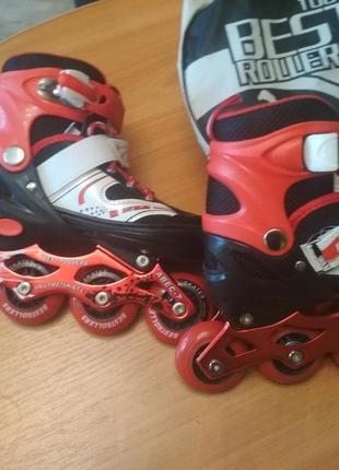 Ролики best rollers 1001 размер31-34